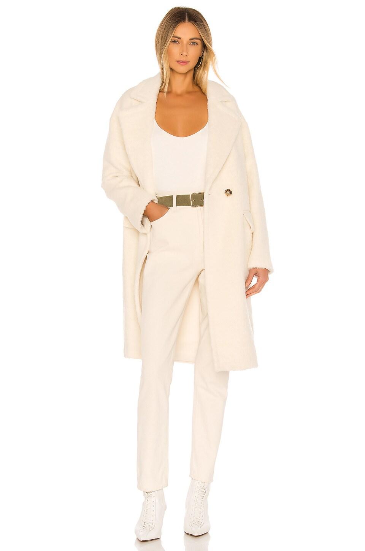 Mackage Eve Wool Coat in Off White