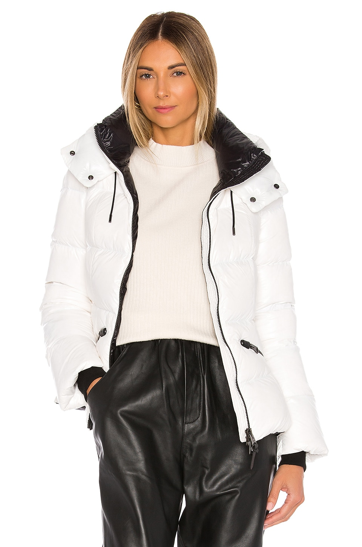 Mackage Madalyn Puffer Jacket in Off White