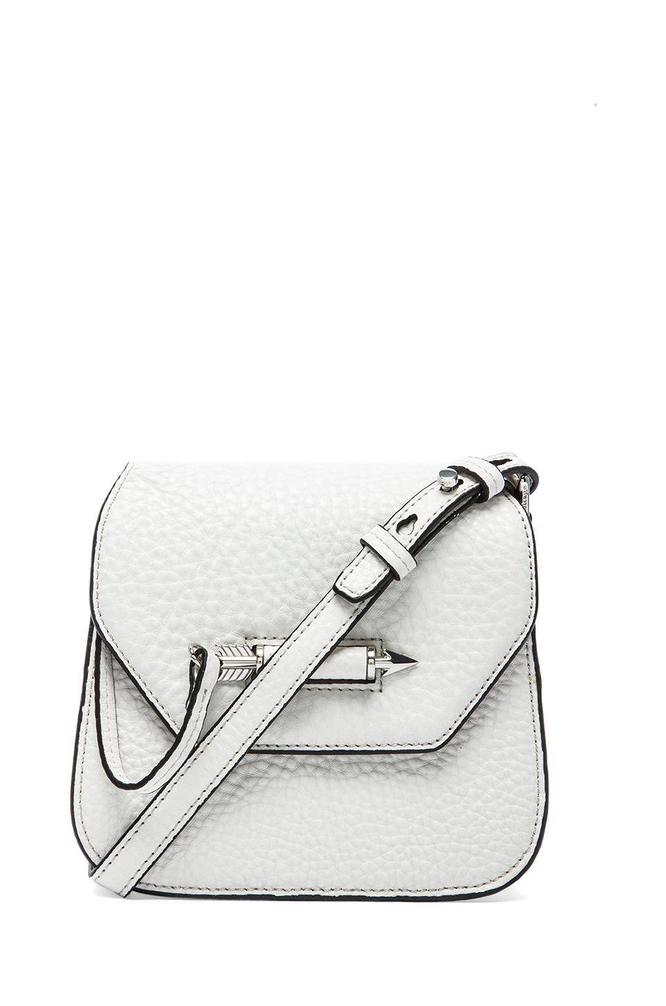 Mackage Novaki Small Crossbody in White