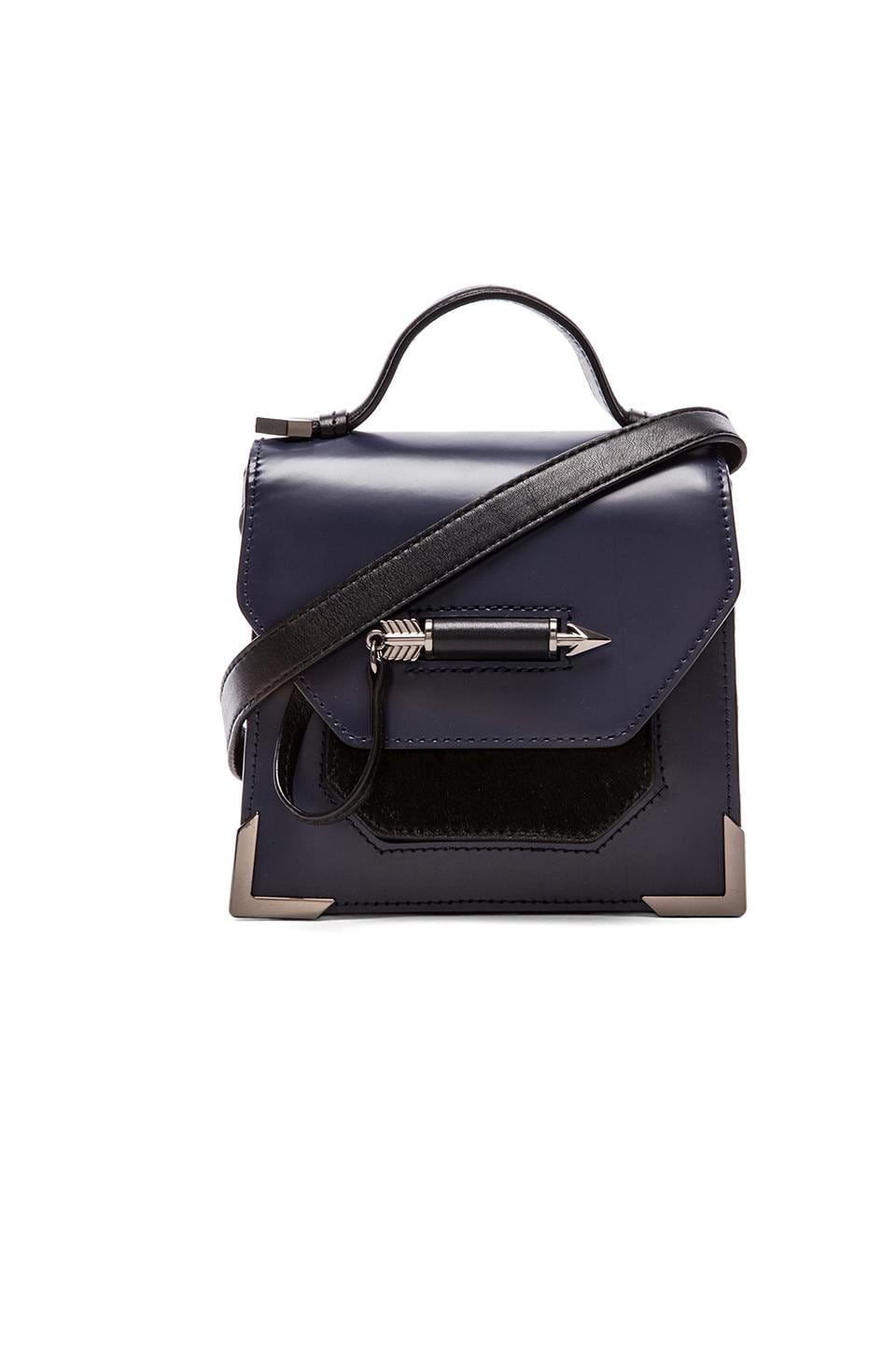 Mackage Rubie Mini Satchel in Indigo