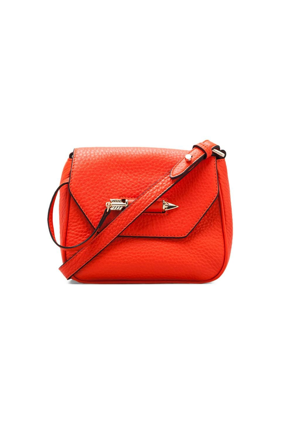 Mackage Novaki Cross Body Bag in Coral