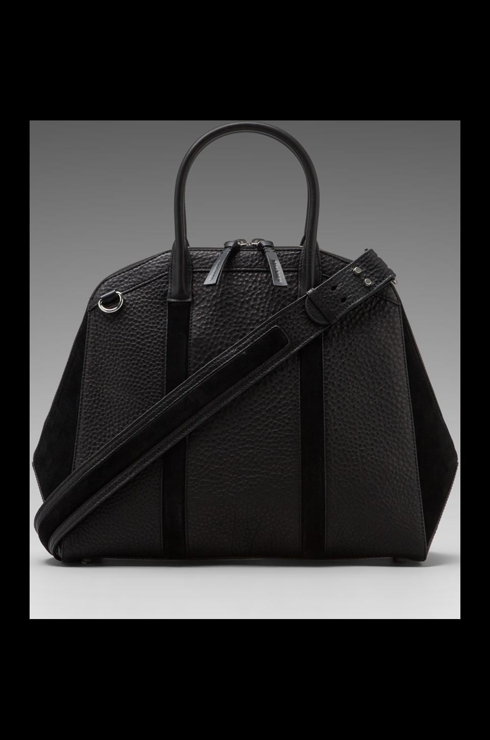 Mackage Onelia Large Zipper Tote in Black