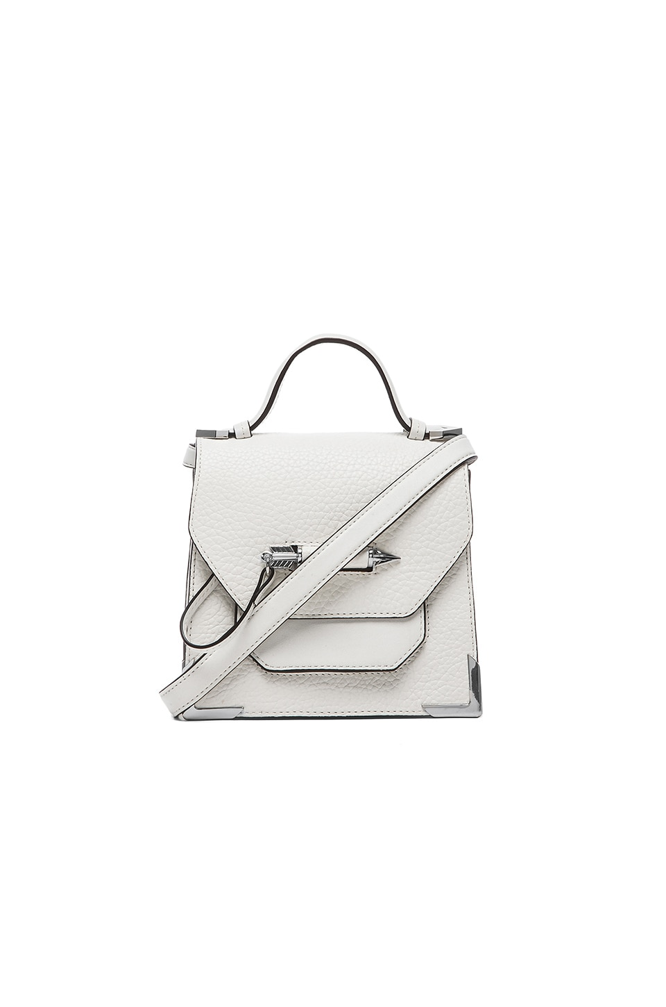 Mackage Rubie Small Crossbody in White