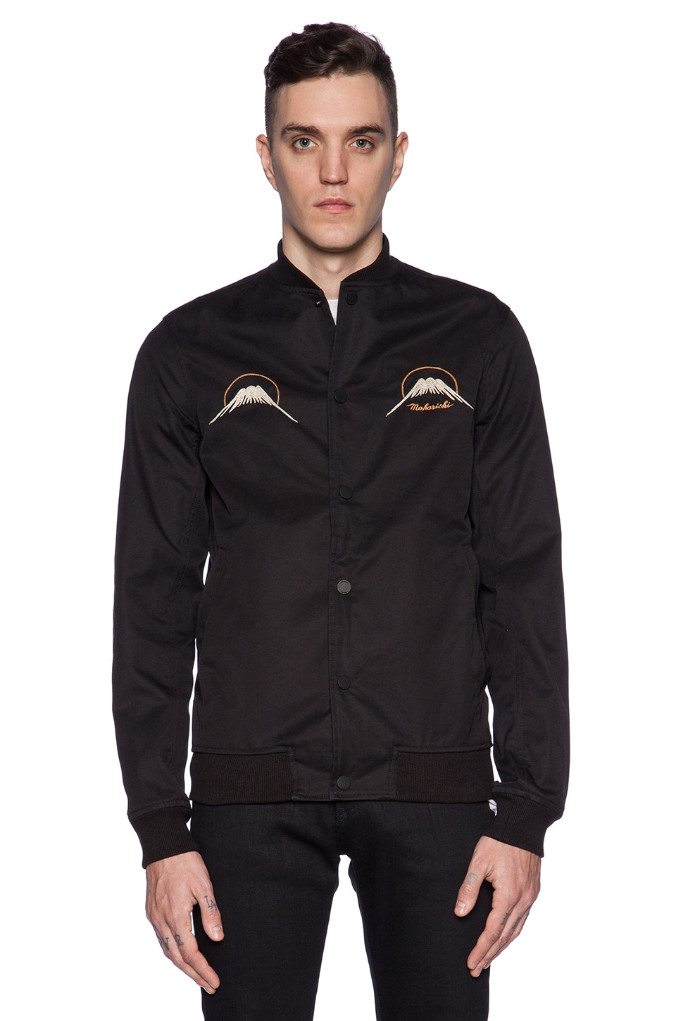 Maharishi Nagarkot Eagle Tour Jacket in Black