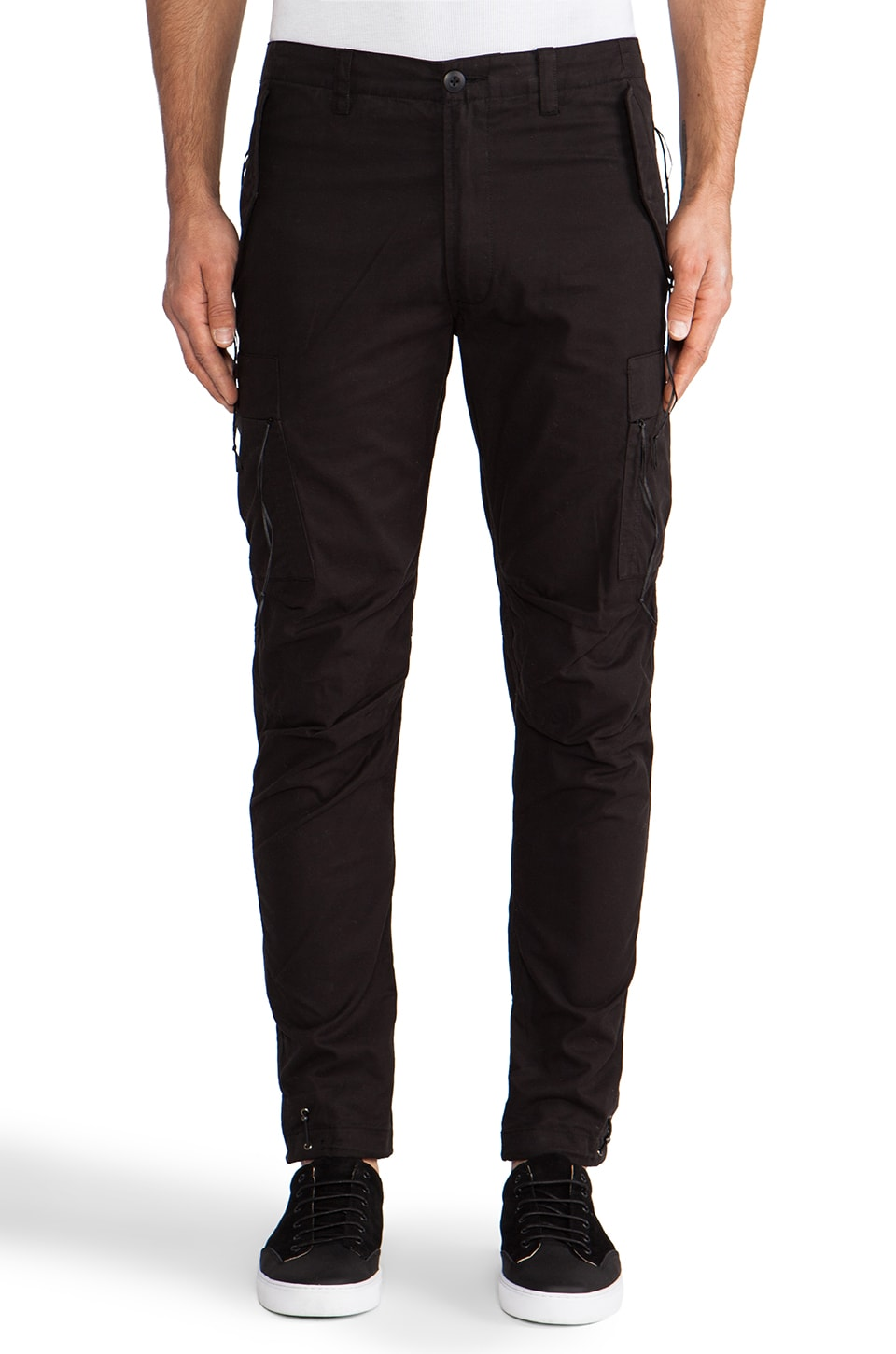 Maharishi Custom MA Cargo Pant in Black