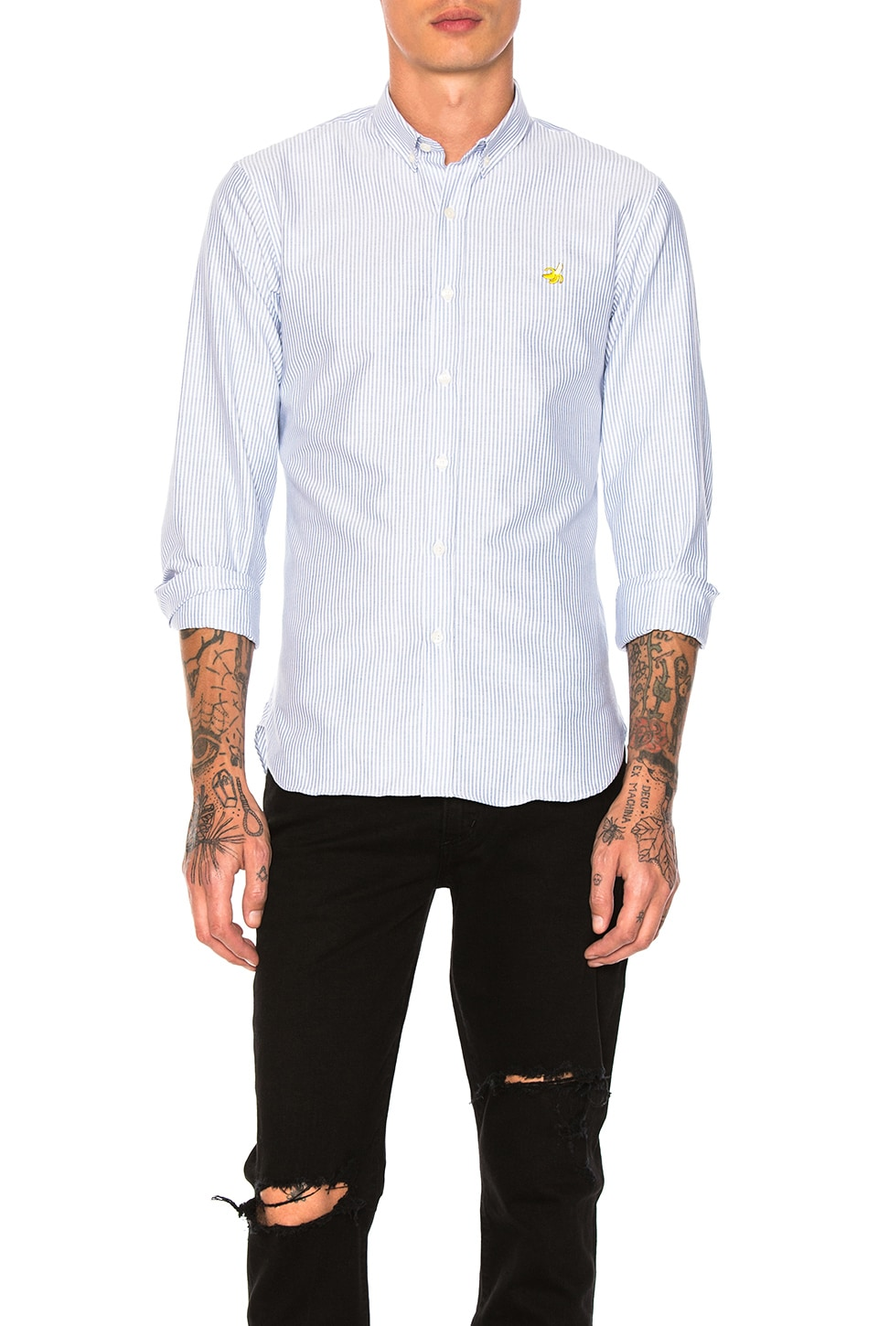 Banana Button Down by Maison Labiche