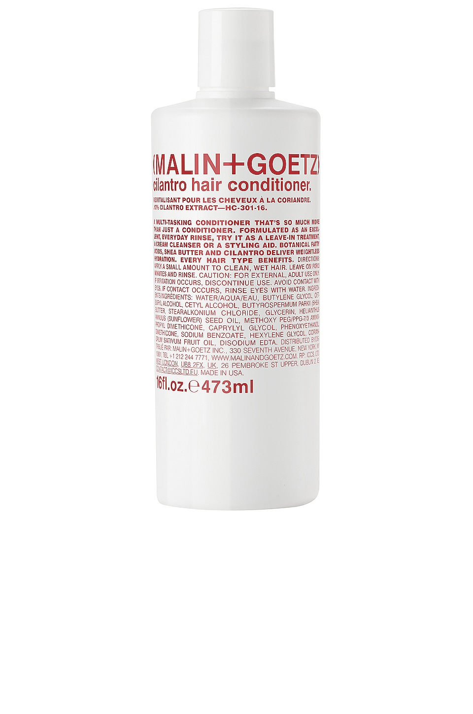 MALIN+GOETZ cilantro hair conditioner +