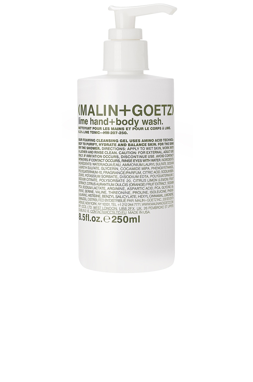 MALIN+GOETZ Lime Hand + Body Wash