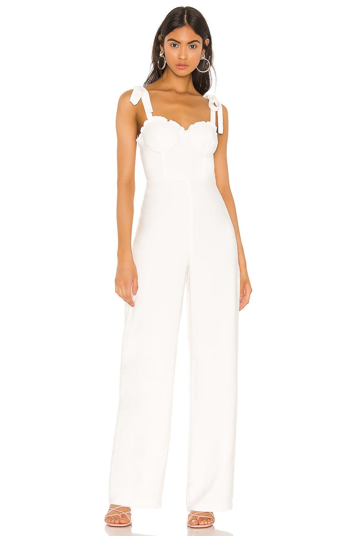 MAJORELLE Joan Jumpsuit in White