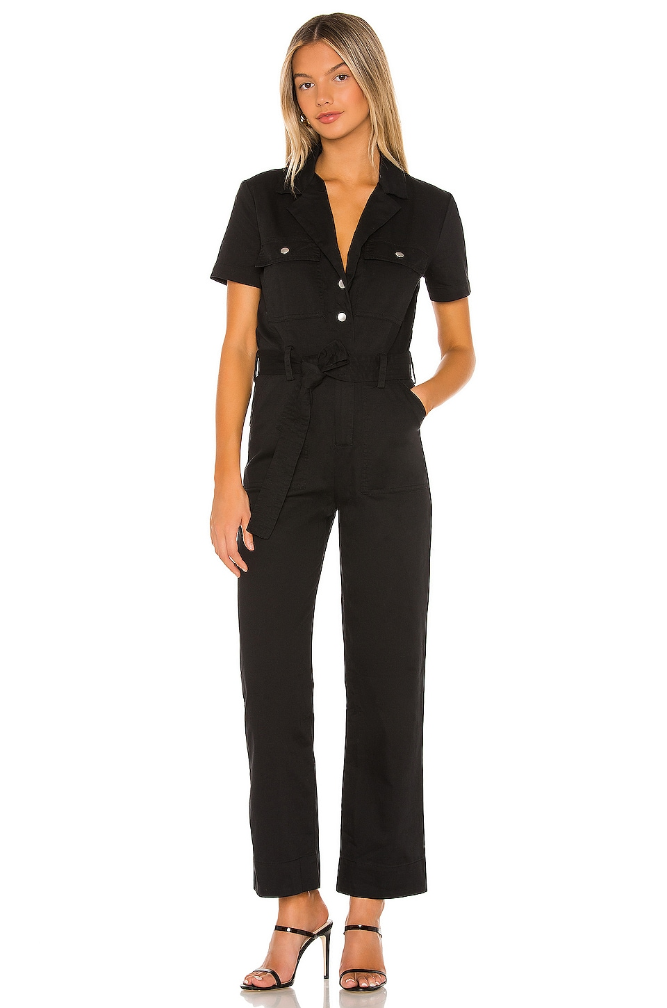 MAJORELLE Cliff Jumpsuit in Black