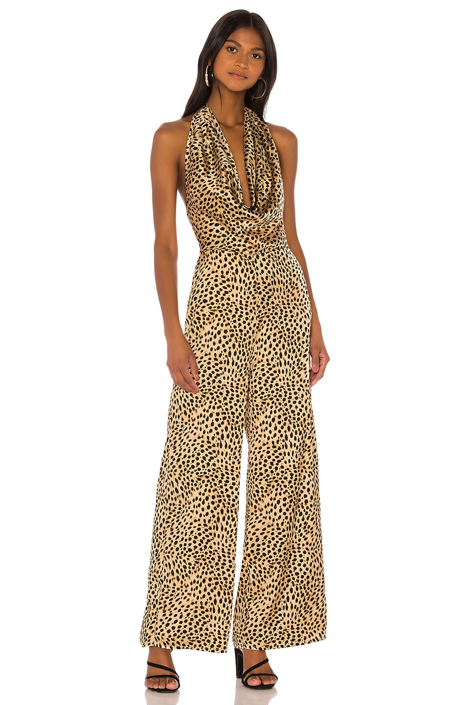 MAJORELLE Vermont Jumpsuit in Cheetah