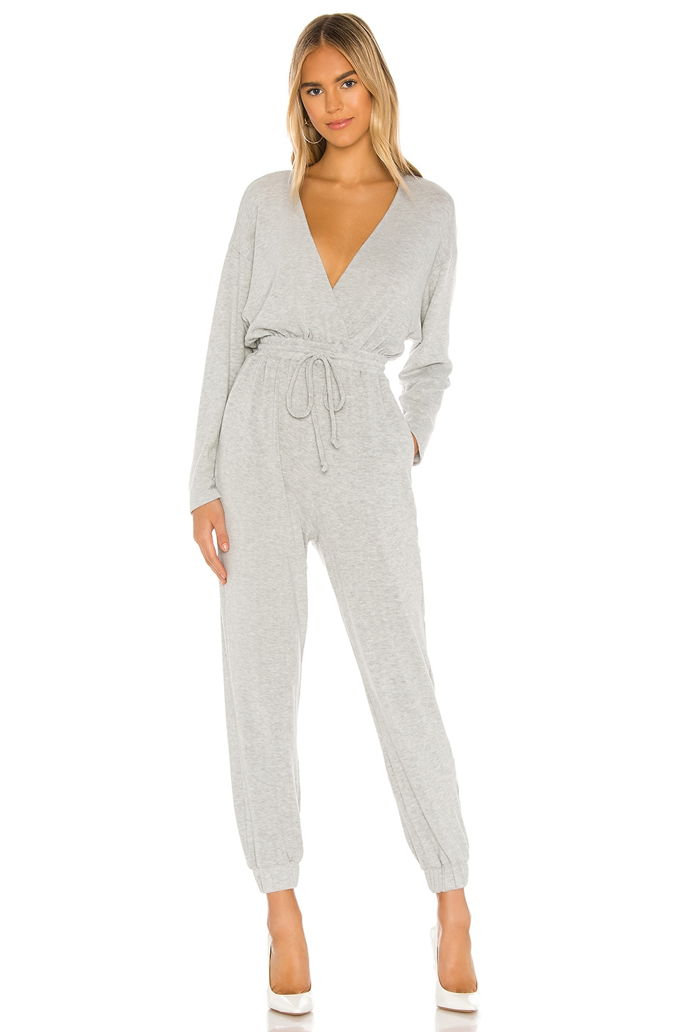MAJORELLE Willie Jumpsuit in Heather Grey