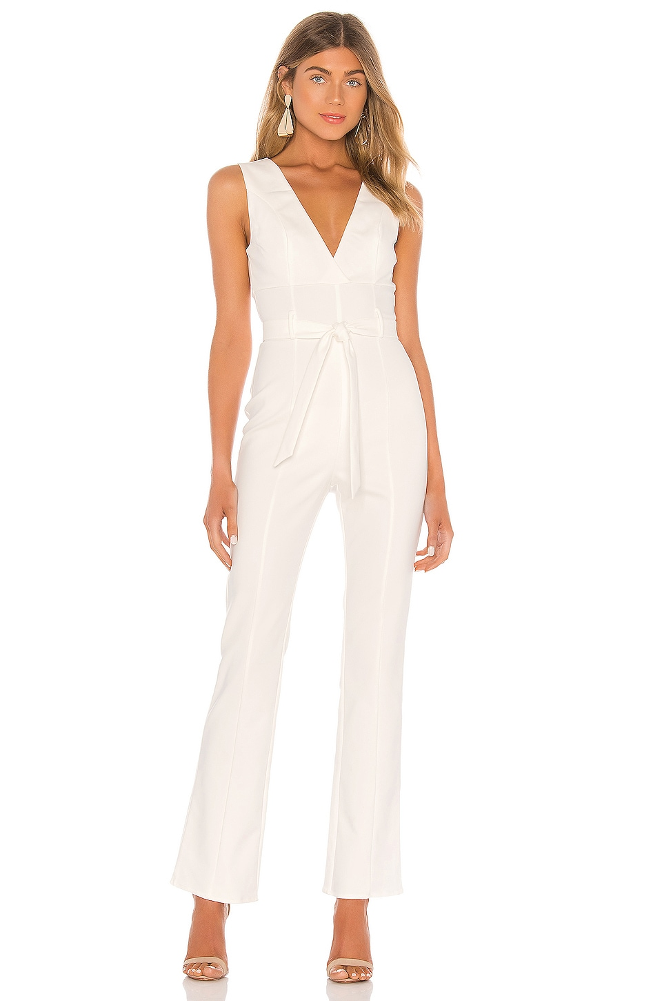 MAJORELLE Chatsworth Jumpsuit in White