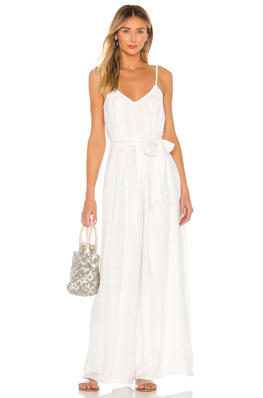 MAJORELLE New Love Jumpsuit in White