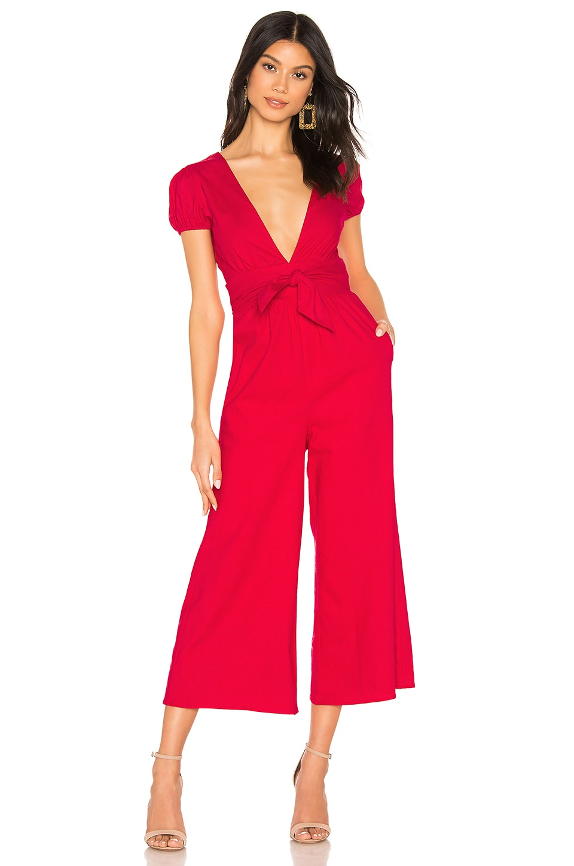 MAJORELLE Autumn Jumpsuit in Red