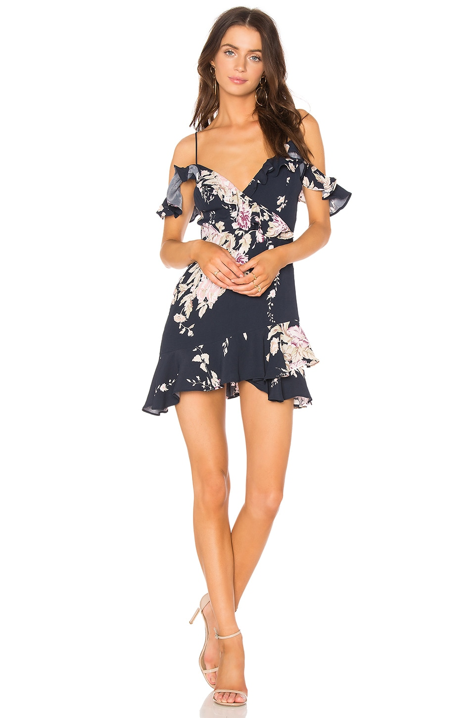 MAJORELLE Salsa Dress in Fauna