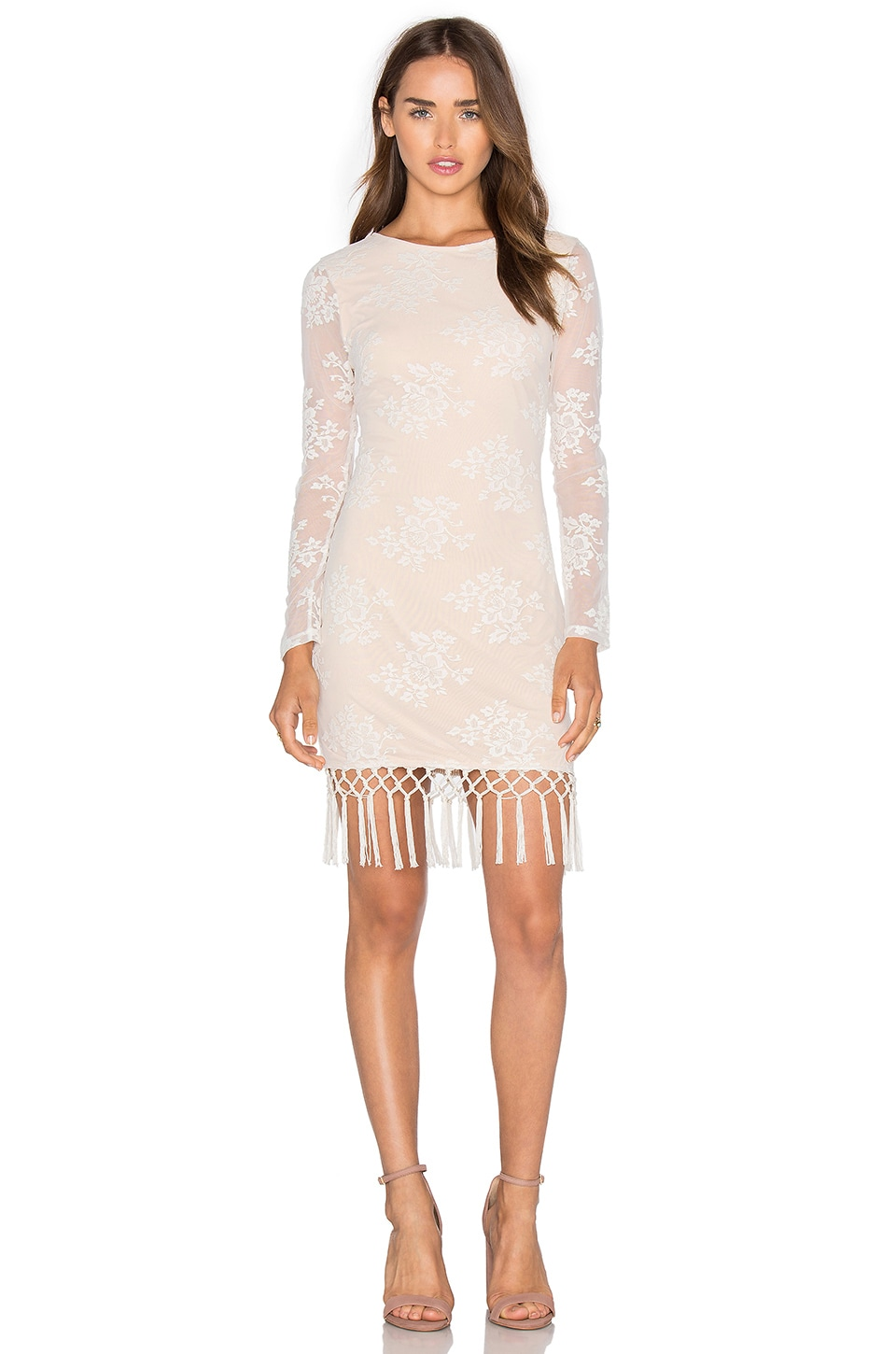 Filaree Fringe Dress by MAJORELLE