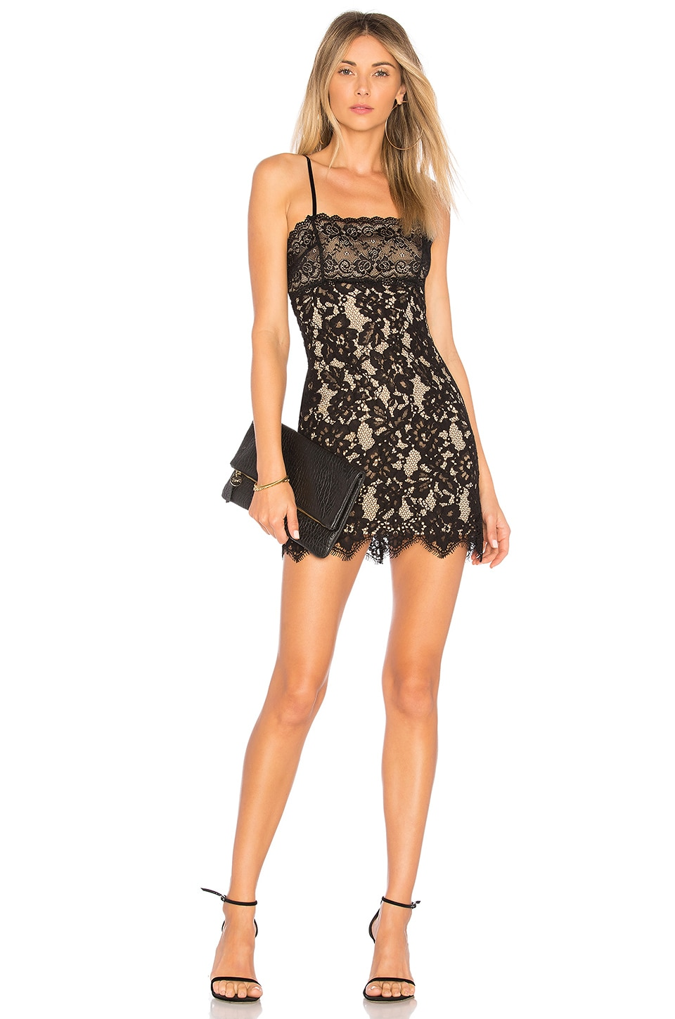 MAJORELLE Apollo Dress in Black