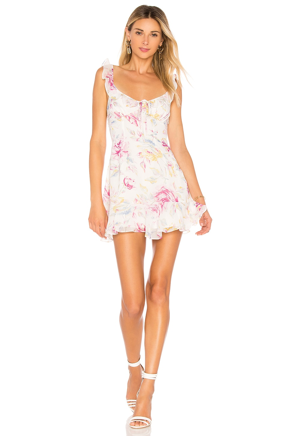 MAJORELLE Sunbeams Dress in Romance