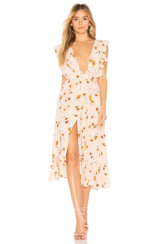 MAJORELLE Mistwood Dress in Bloom
