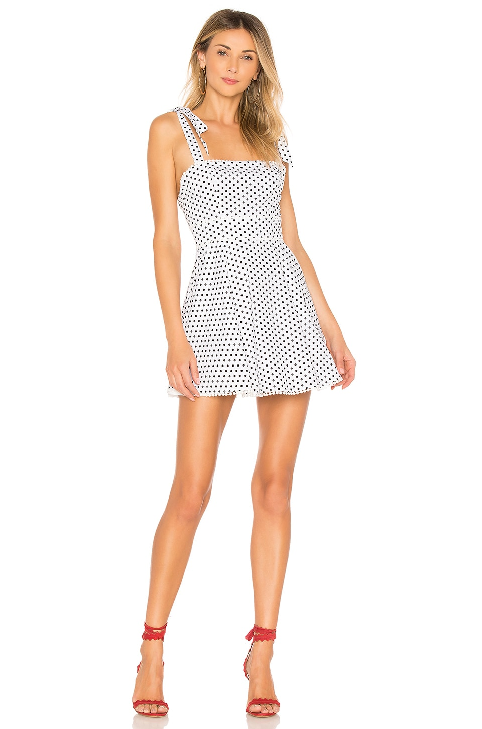 MAJORELLE Lula Dress in Polka