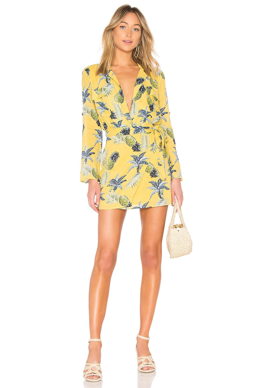MAJORELLE Beckett Dress in Citrus