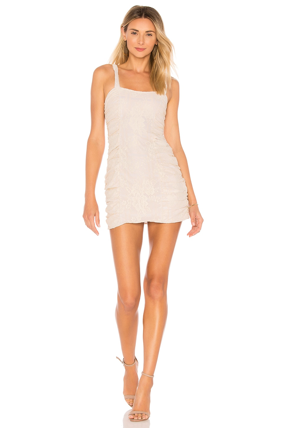 MAJORELLE Winston Dress in Chai