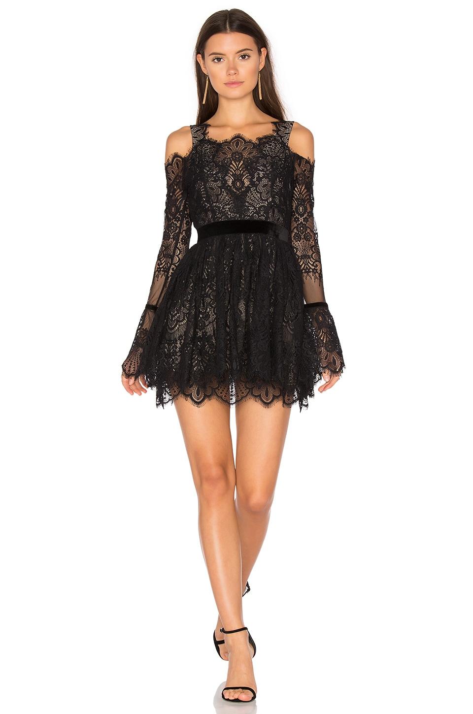 MAJORELLE Courtney Dress in Black