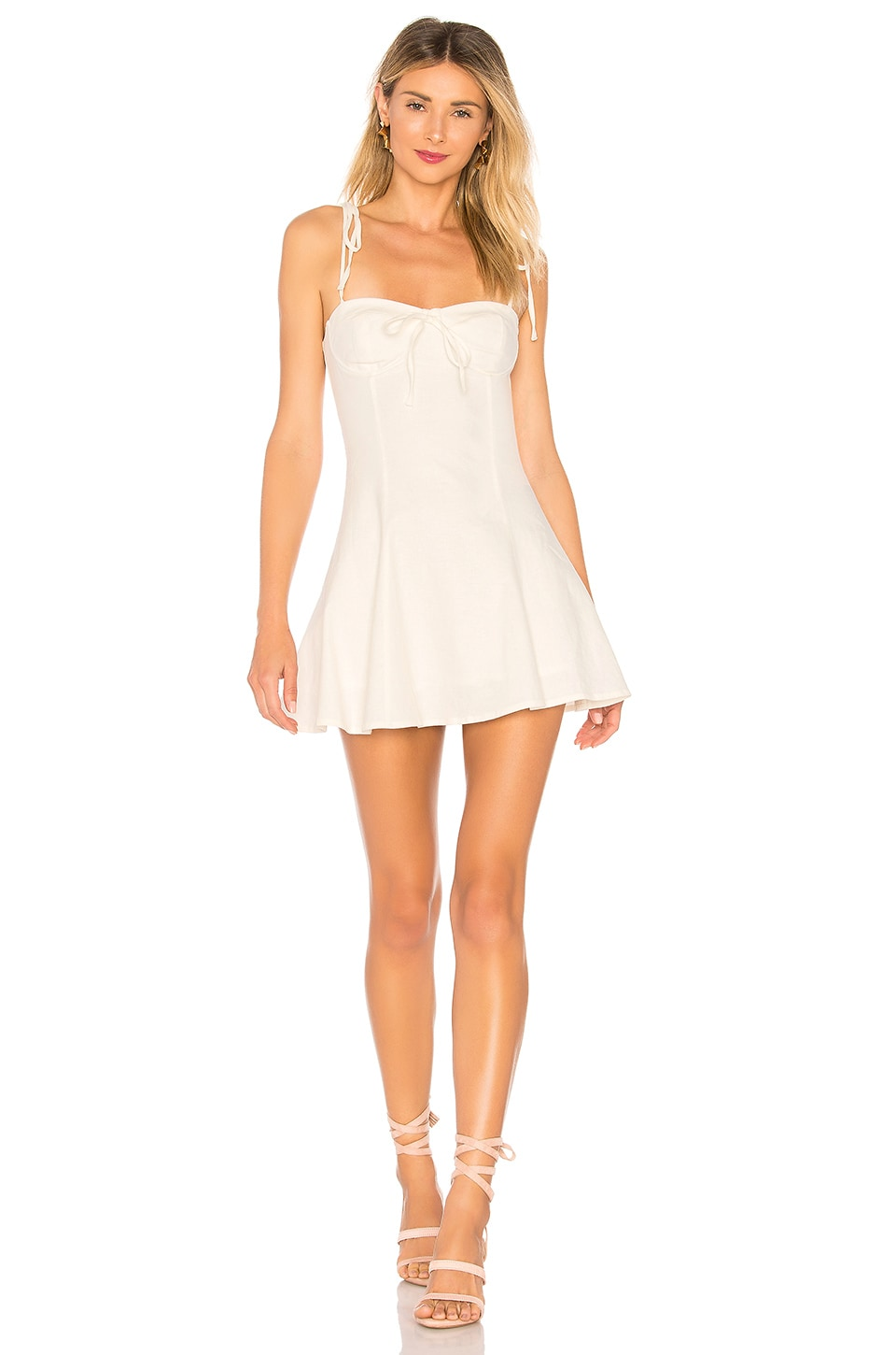 MAJORELLE Tahoe Dress in White