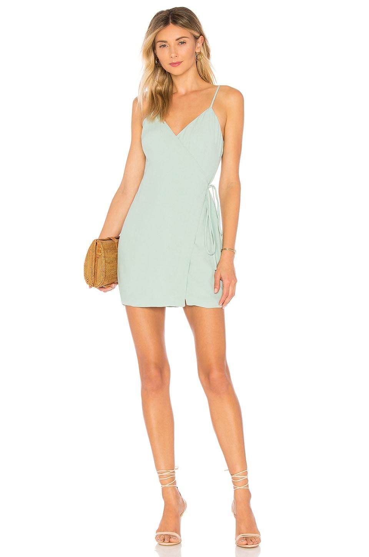 MAJORELLE Nina Dress in Sage