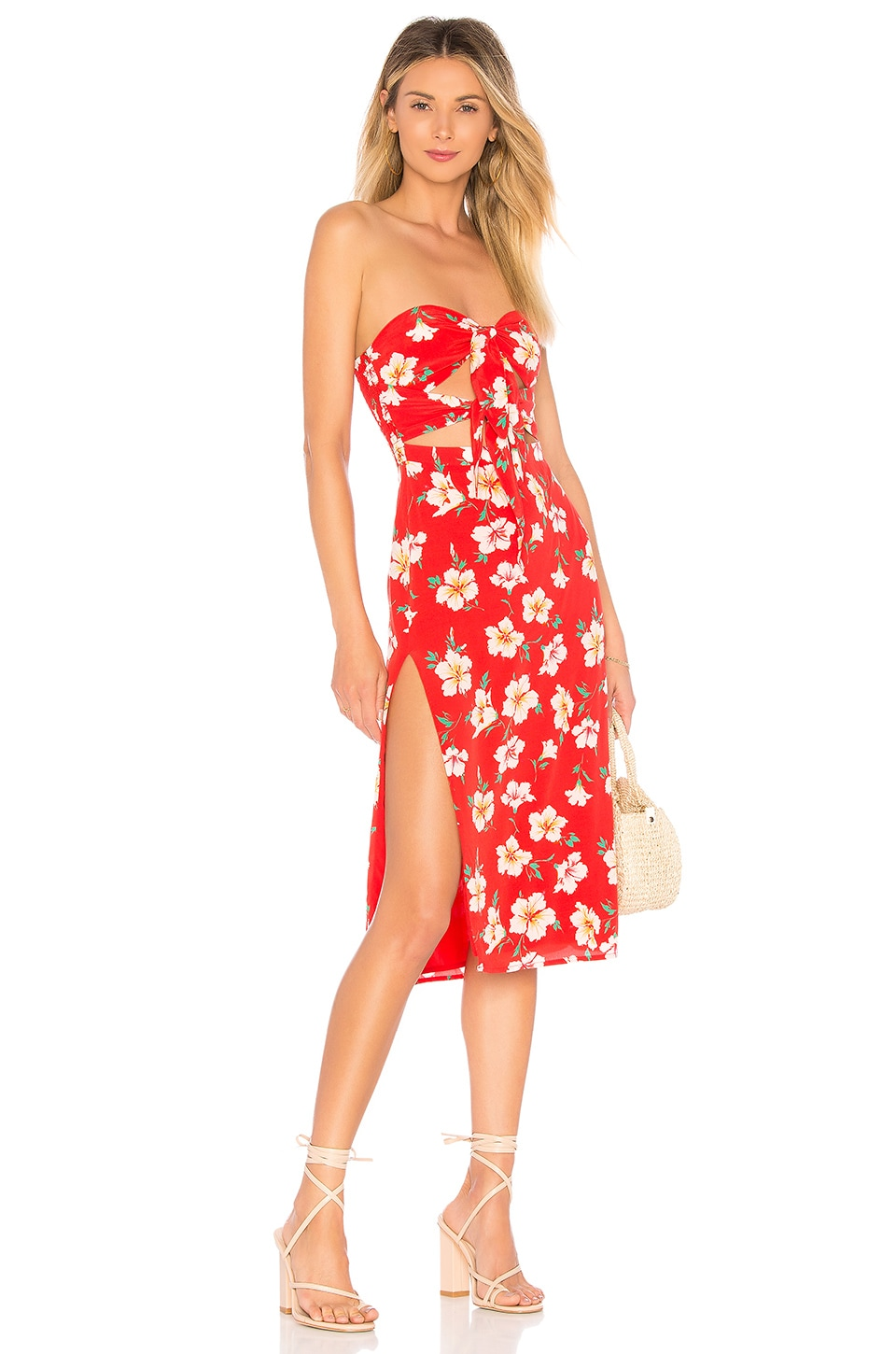 MAJORELLE Cookie Dress in Fruit Punch