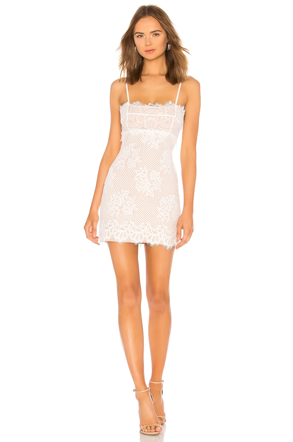 MAJORELLE Apollo Dress in Ivory