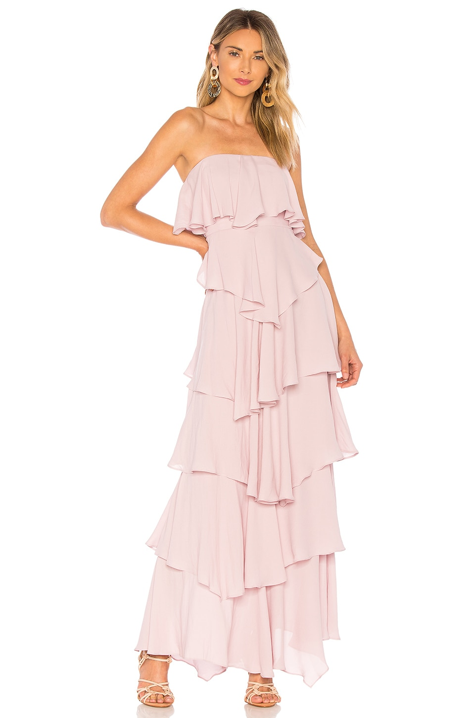 MAJORELLE Iram Gown in Lilac