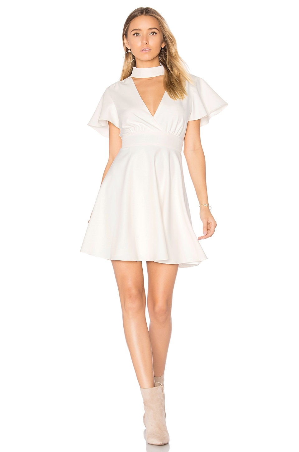 MAJORELLE Sudan Secret Dress in Ivory