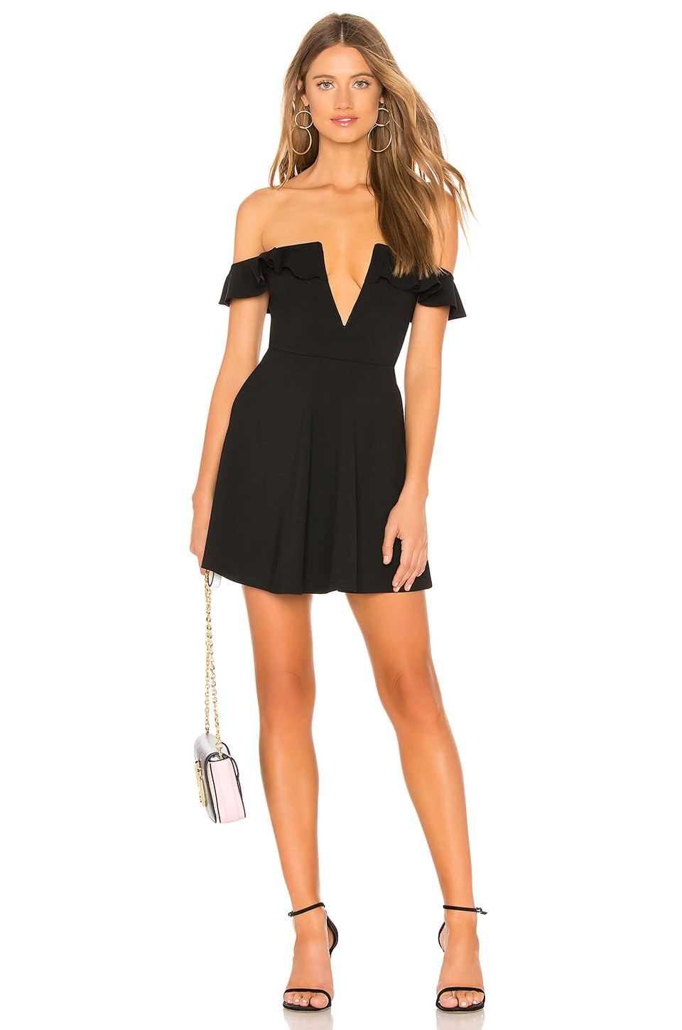 MAJORELLE Poise Dress in Black