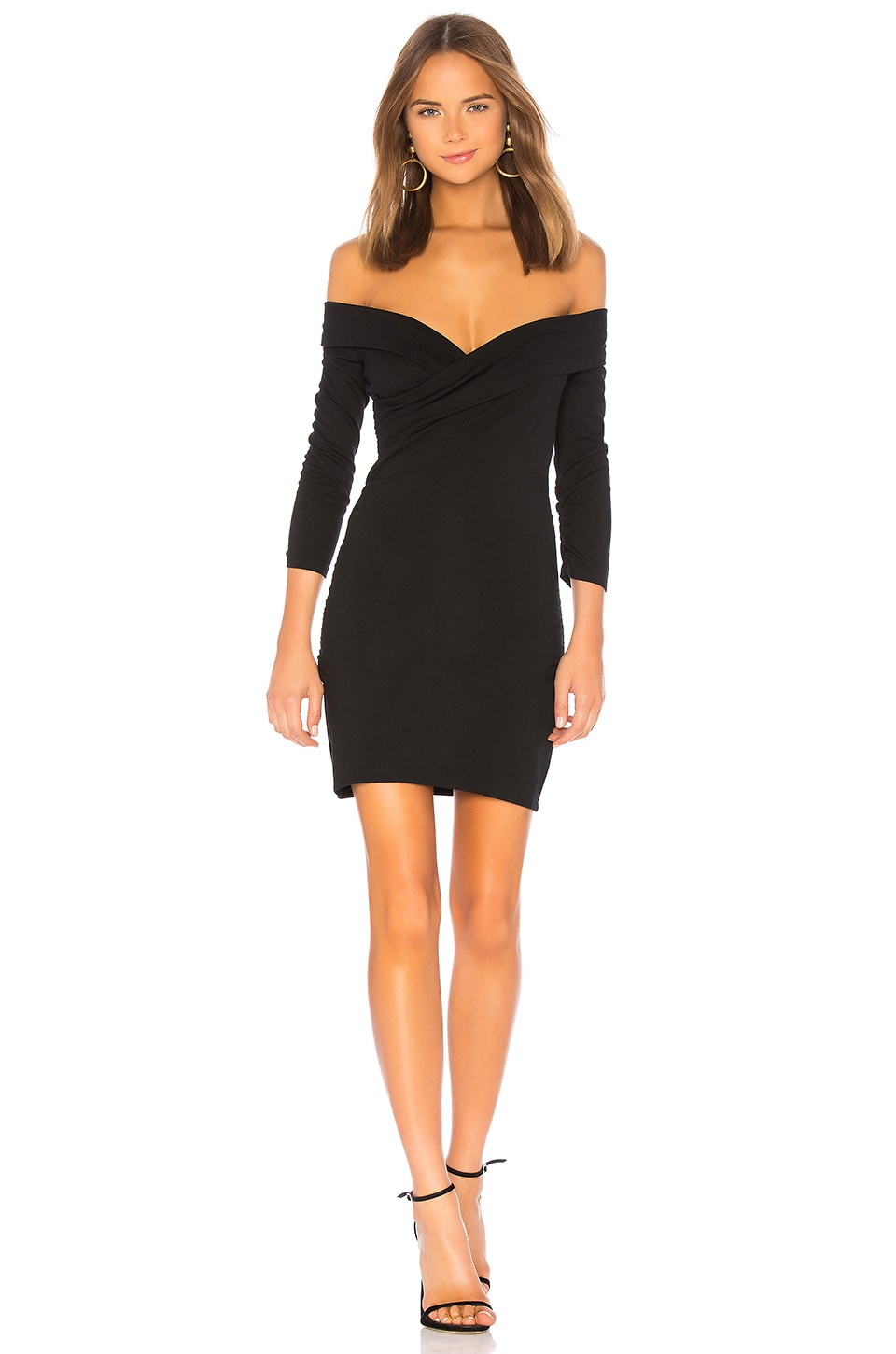 MAJORELLE Cypress Dress in Black