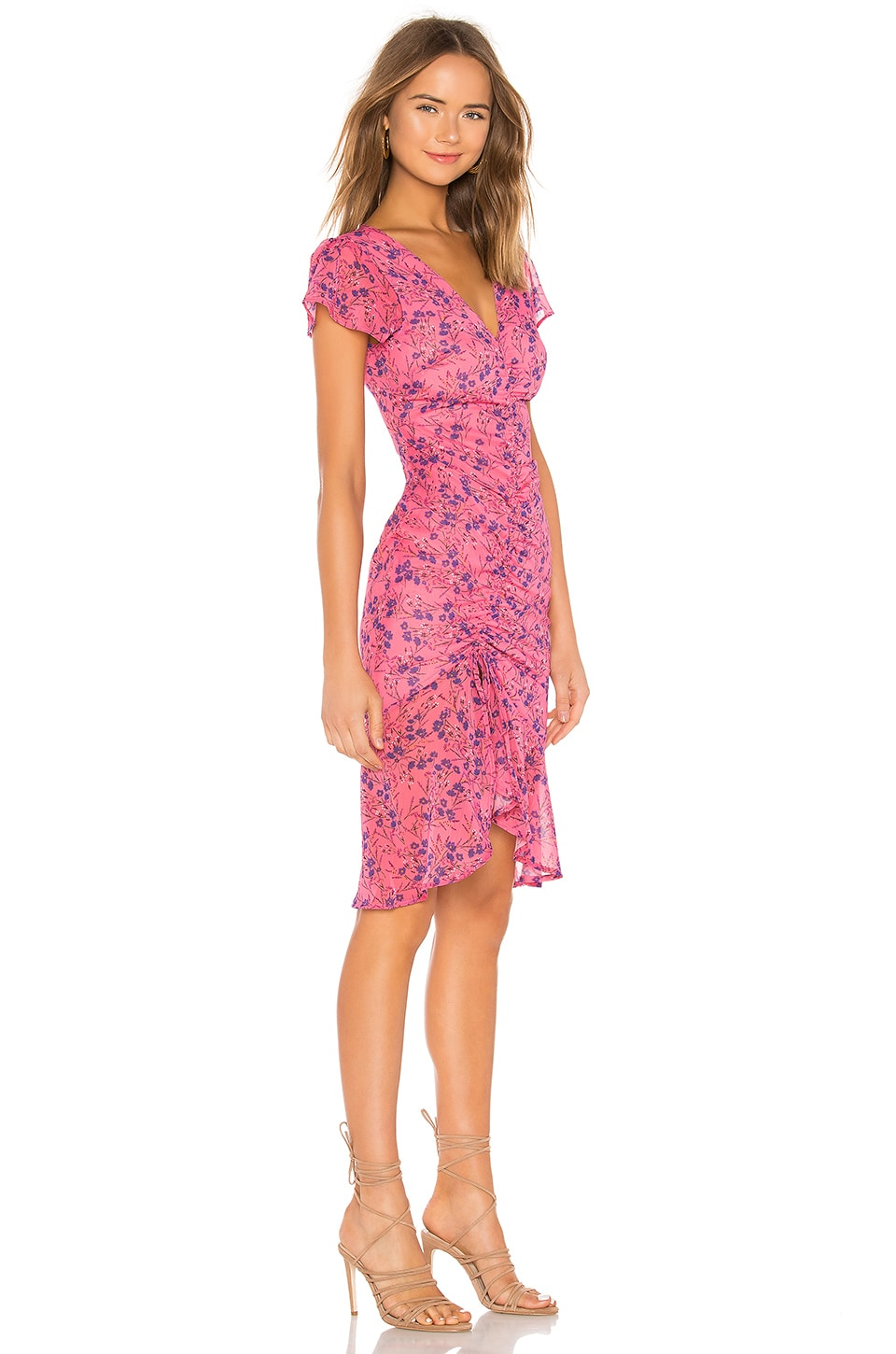 Elaine Midi Dress, view 2, click to view large image.