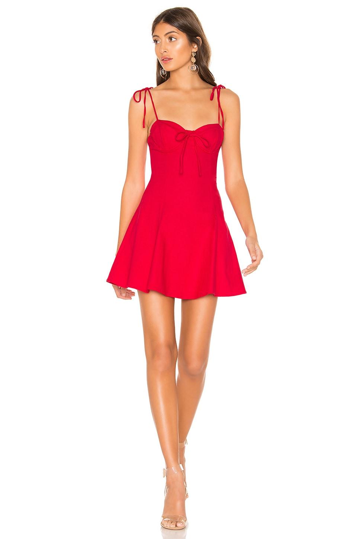 MAJORELLE Tahoe Dress in Red