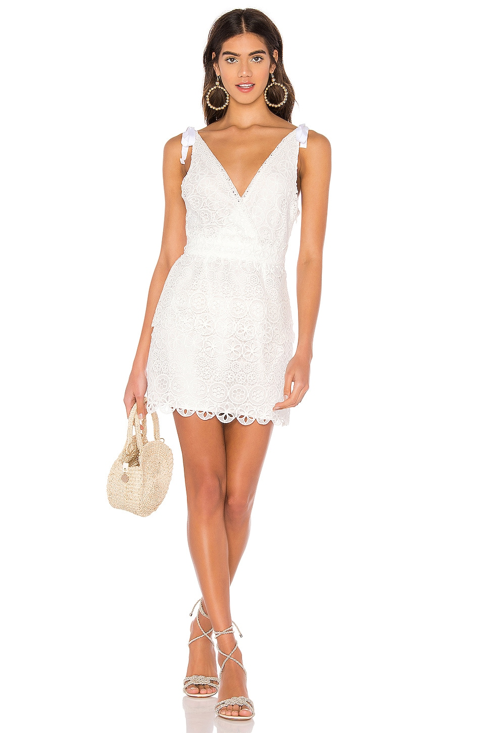 MAJORELLE Juliette Dress in White