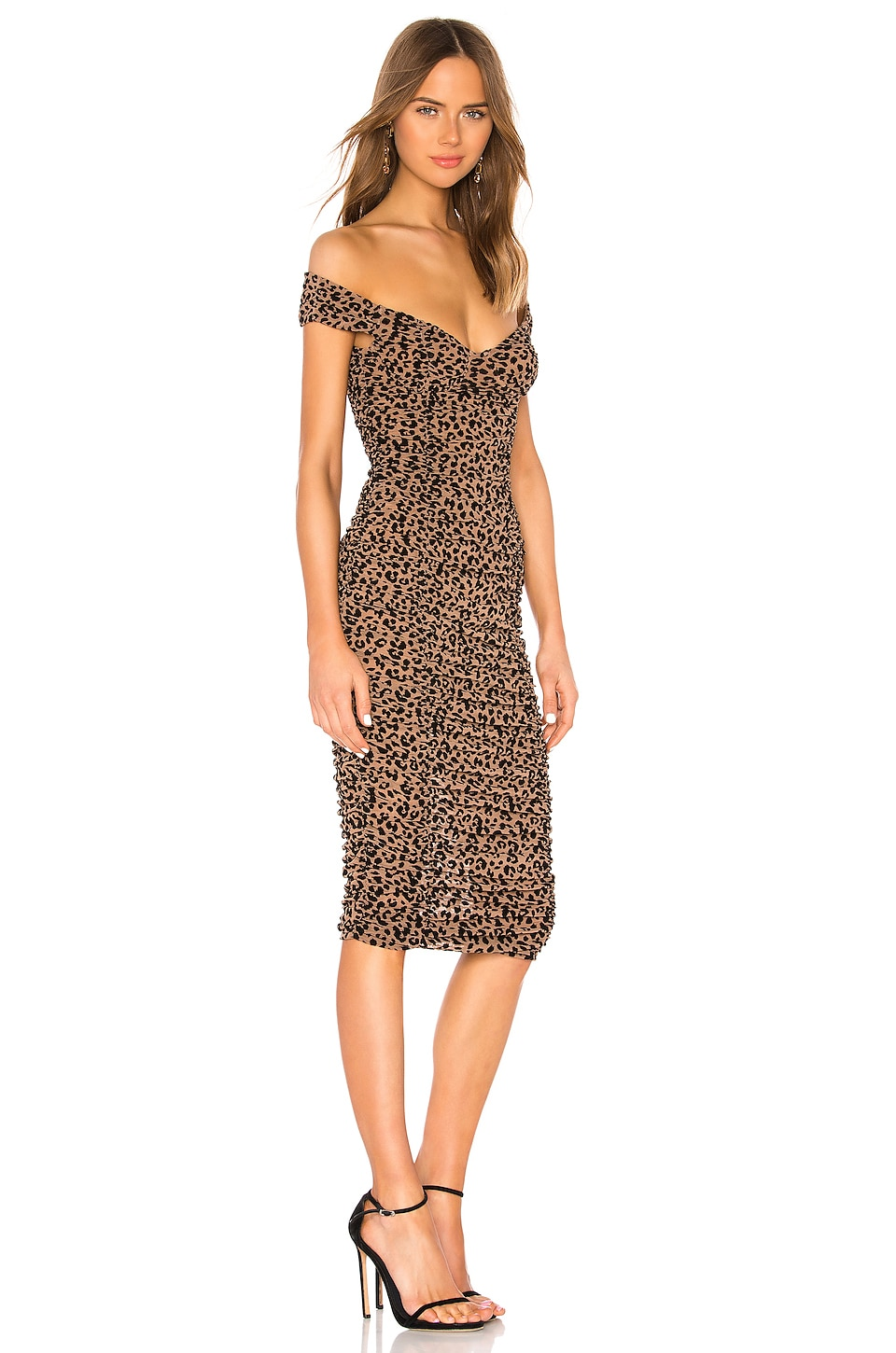 Tabitha Midi Dress, view 2, click to view large image.