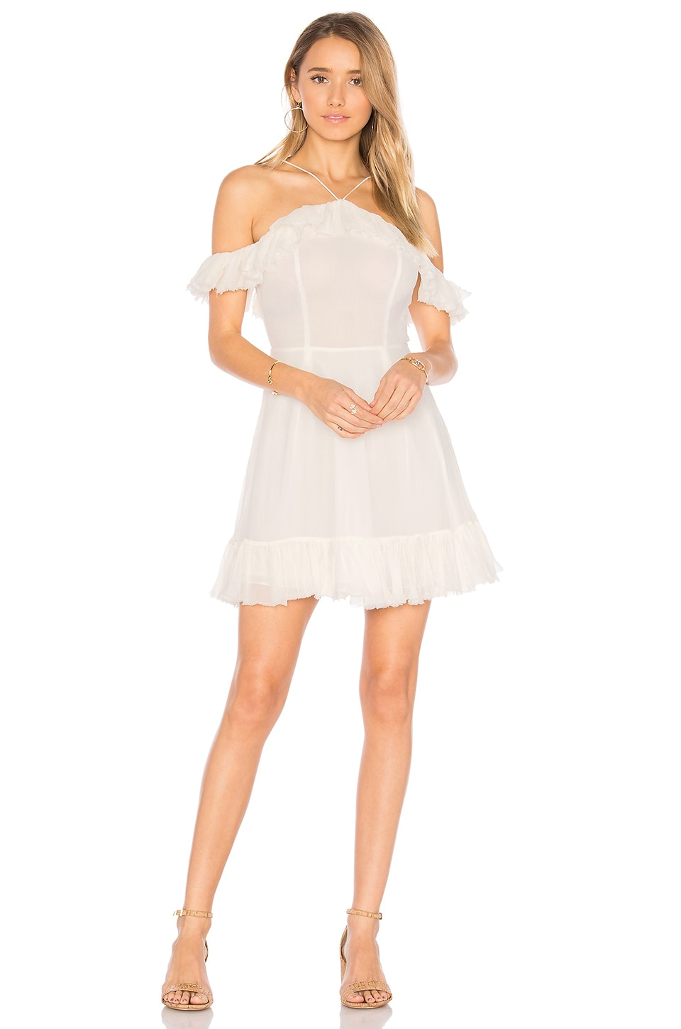MAJORELLE x REVOLVE Zuni Dress in Ivory
