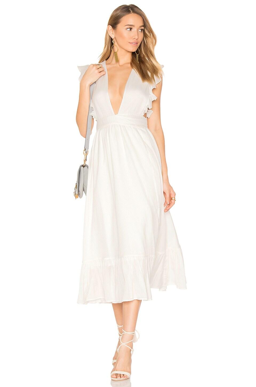 MAJORELLE Mistwood Dress in Ivory