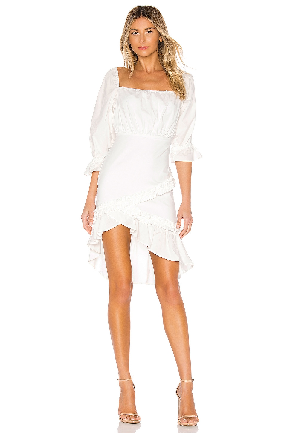 MAJORELLE Avalyn Mini Dress in White