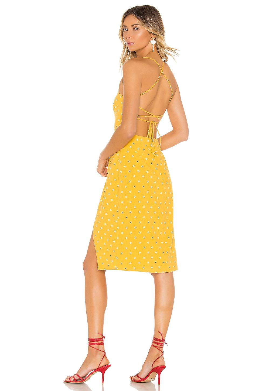 MAJORELLE Mila Dress in Tuscany Yellow