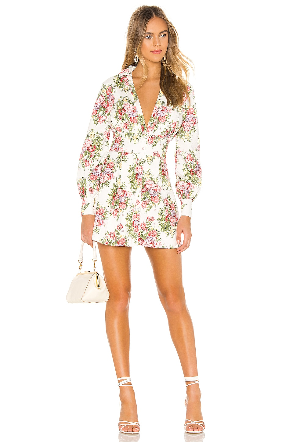 MAJORELLE Liam Mini Dress in Vineyard Multi