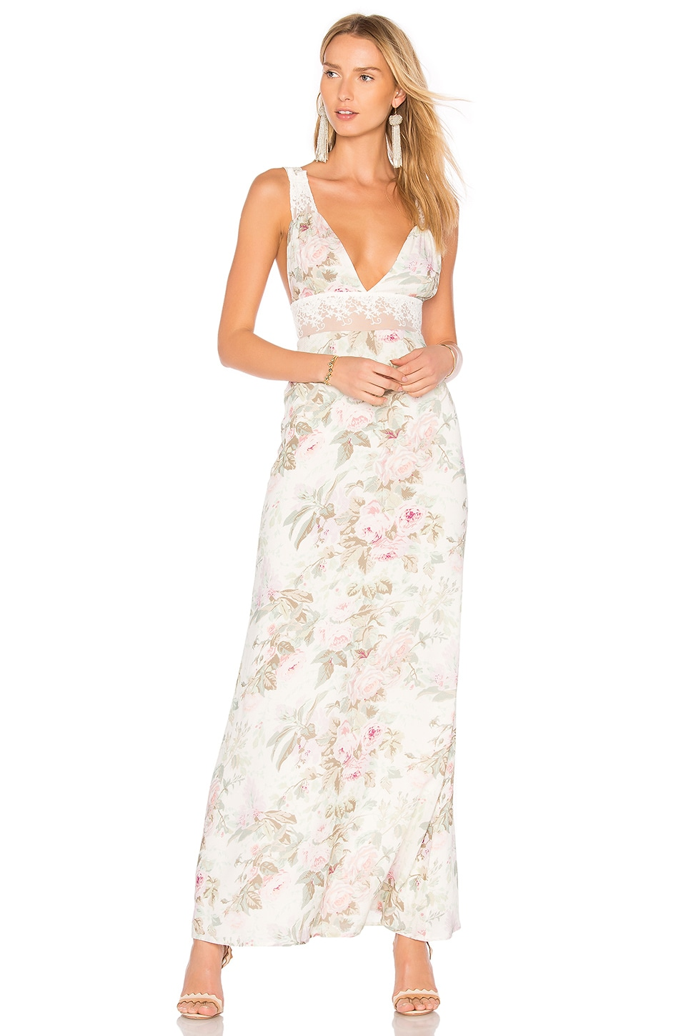 MAJORELLE MAGGIE Maxi Dress in Vintage