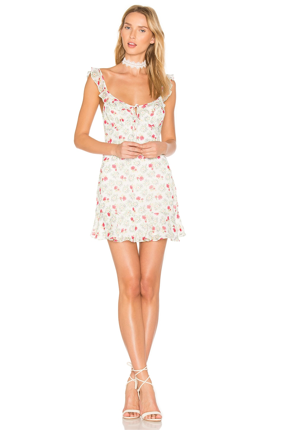 MAJORELLE Sunbeams Dress in Daisy Floral