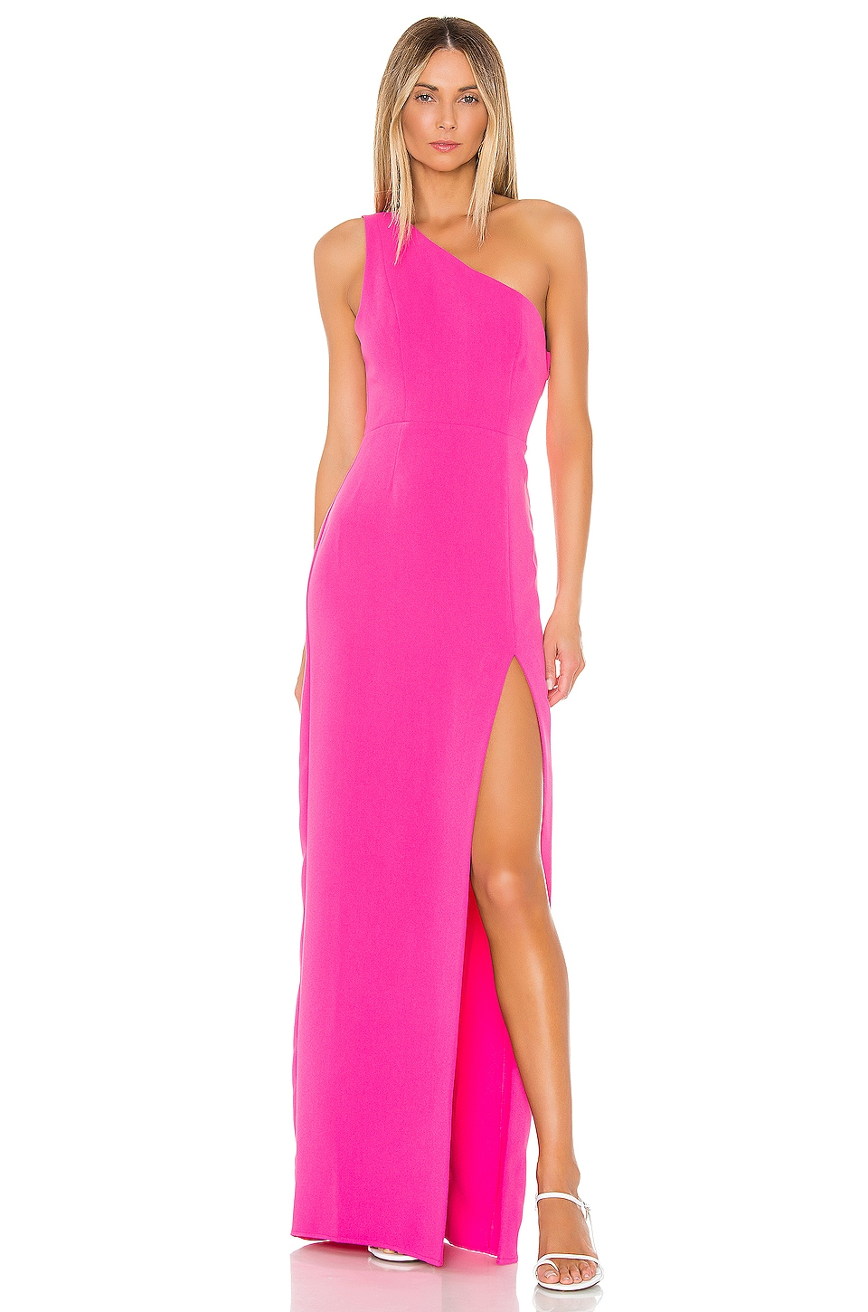 MAJORELLE Gia Gown in Hot Pink