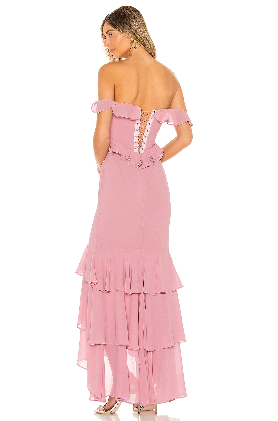 MAJORELLE Moments Like This Gown in Pink