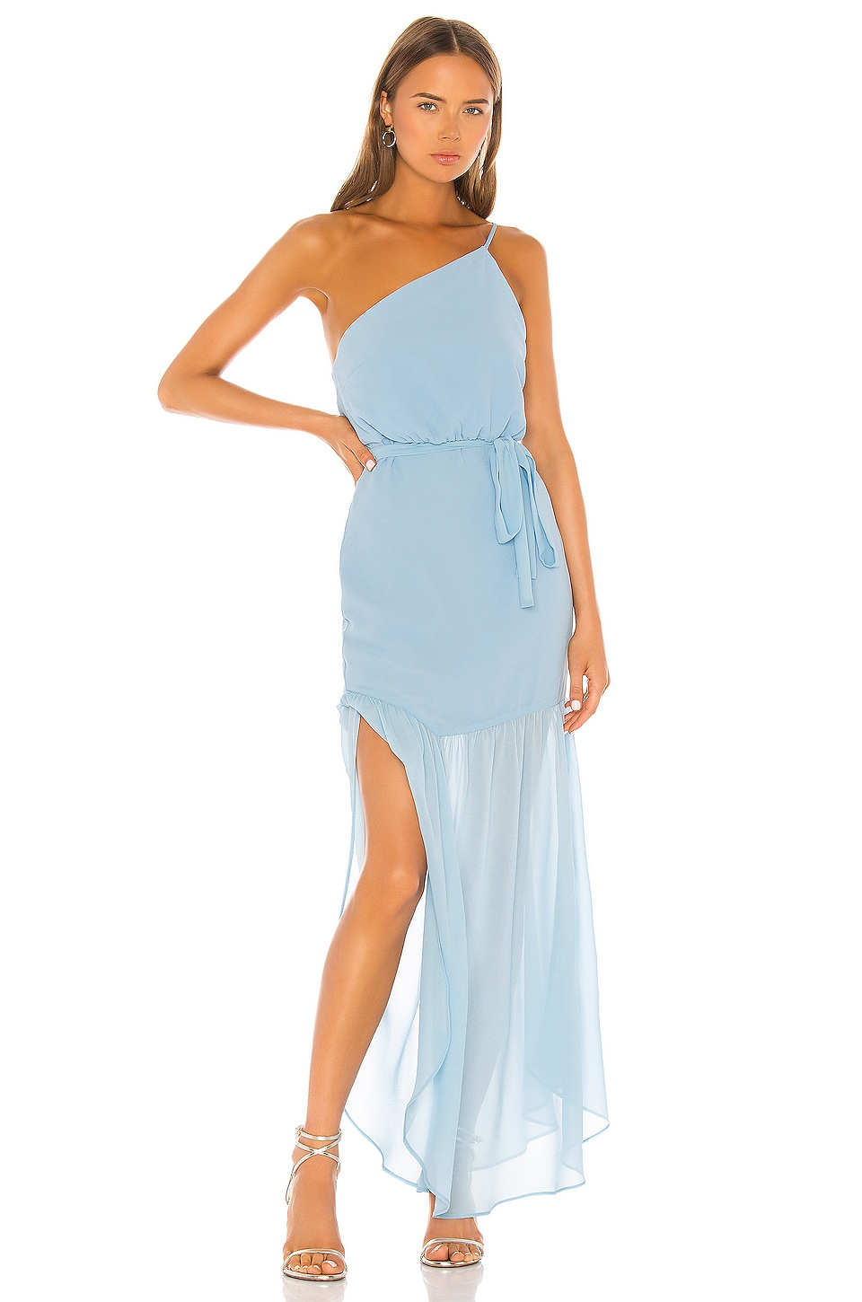 MAJORELLE Monalisa Gown in Baby Blue